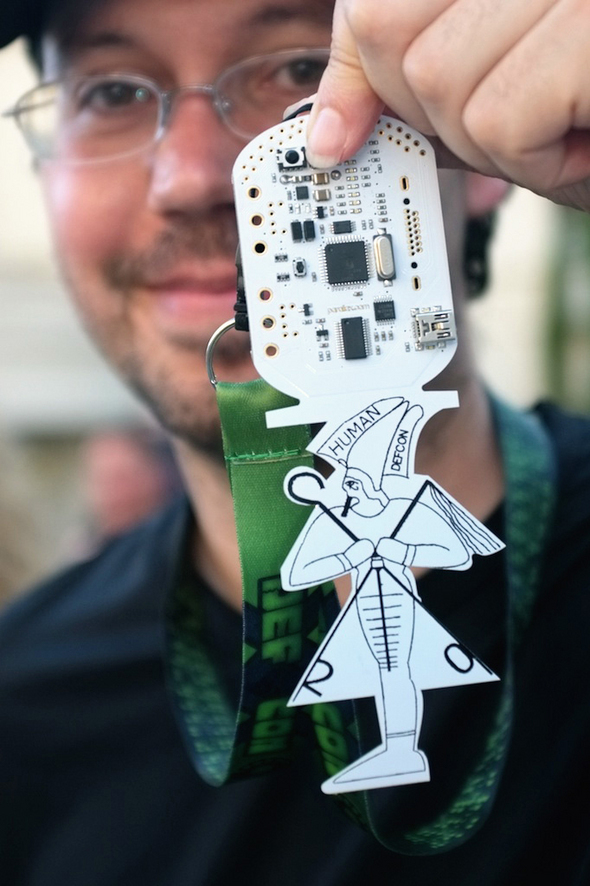 Hack My DEF CON Badge