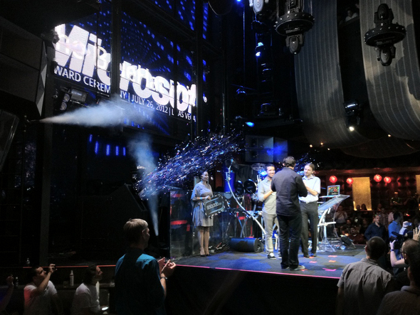 Marquee Nightclub Delivers Confetti, Cash For Coders