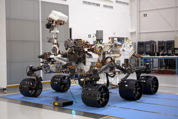 Curiosity's Mars Mission: View The Amazing Technology