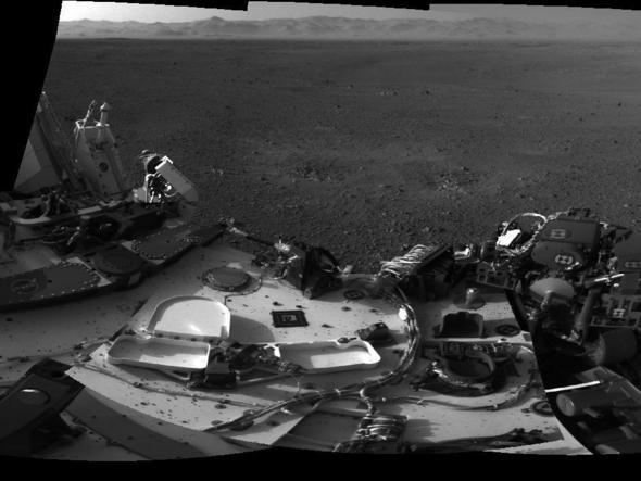 Curiosity In Panorama