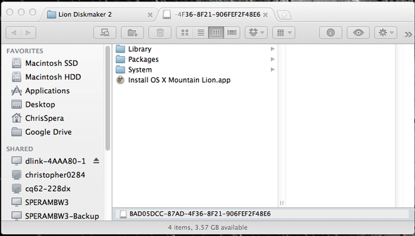 How To Create An OS X Mountain Lion Install USB Drive