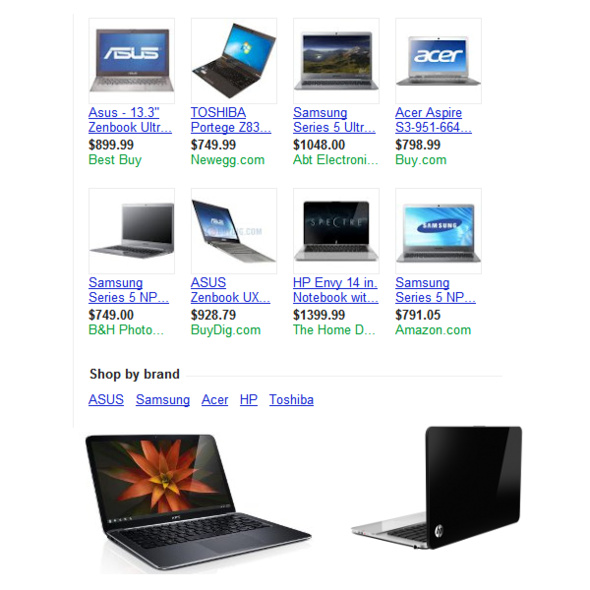 Advantage, Ultrabook: More Choices