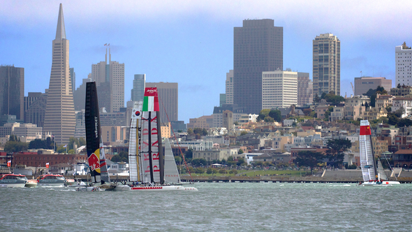 Team Oracle Points New Tech At America's Cup