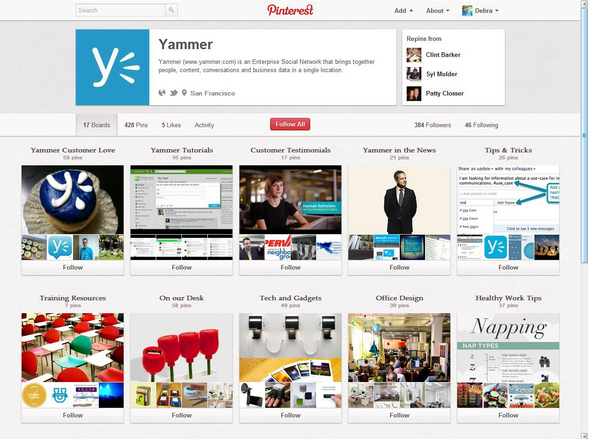 10 Pinterest Pointers For Businesses