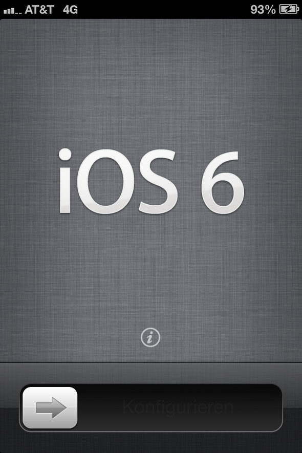 My iPhone 4S Upgrade To iOS 6 In Pictures