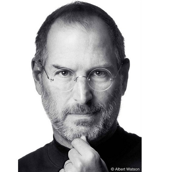 Steve Jobs, co-founder, chairman, and CEO of Apple, passed away on October 5, 2011 at age 56 after a long battle with pancreatic cancer. - 01_Steve-Jobs_full