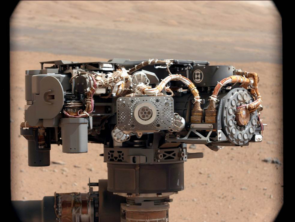 Inside Curiosity Rover's Toolbox For Mars