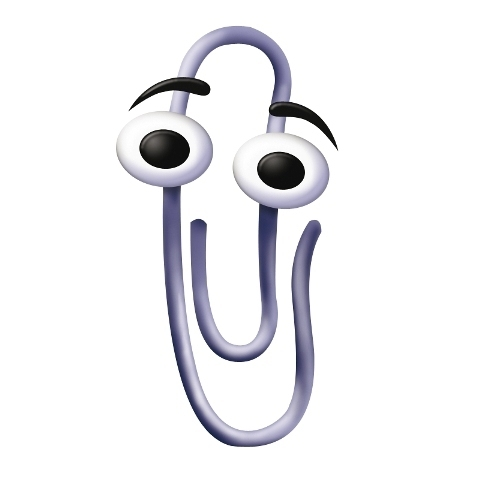 Clippy Becomes A Mistakes Mascot