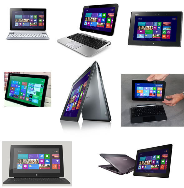 8 Cool Windows 8 Tablets