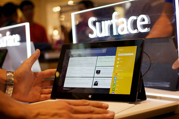 Surface Is The Main Attraction