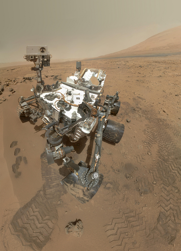 NASA Mars Mission: No Little Green Men -- Yet
