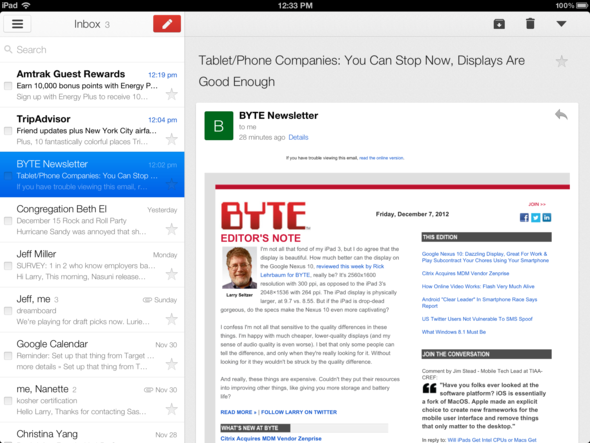 GMail 2.0 Catches Up With Competition
