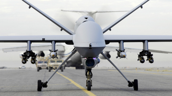 Military Drones Present And Future: Visual Tour