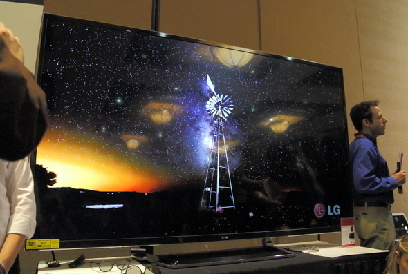 84-inches, 8-million pixels and $20,000
