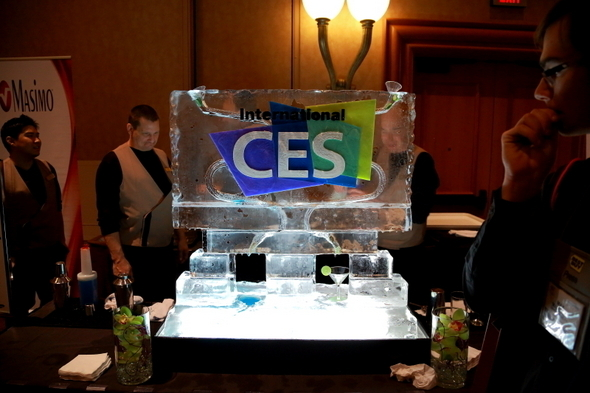 CES 2013 Party Starts Early