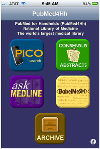 PubMed For Handhelds
