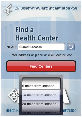 Find A Health Center