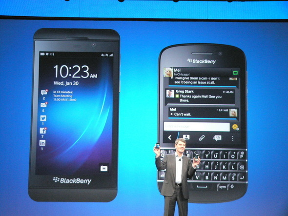 Goodbye RIM, Hello BlackBerry