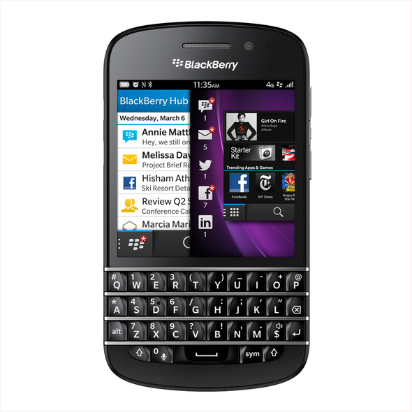 BlackBerry Q10: Touch And Keyboard