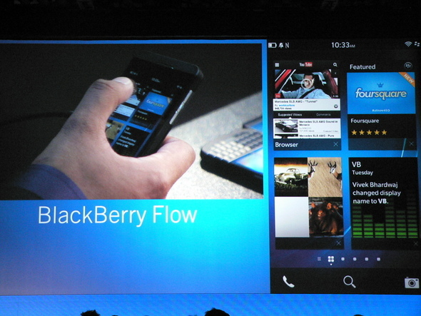 BlackBerry Flow And Peek: Major Multitasking