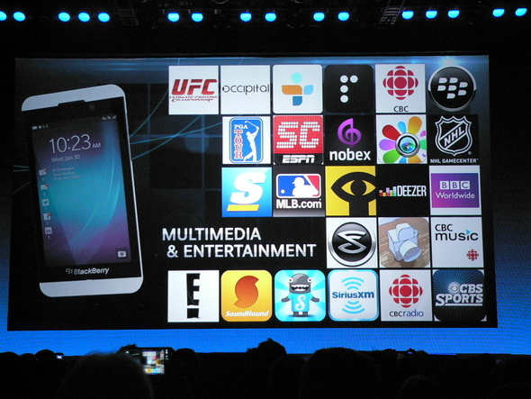 BlackBerry World Offers 70,000+ Apps