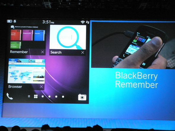 BlackBerry Remember: A Digital To-Do List