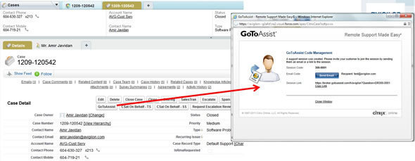 Citrix GoToAssist For Remote Troubleshooting