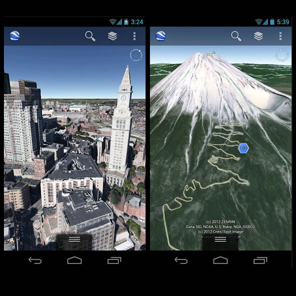 Google Earth Android Benefits