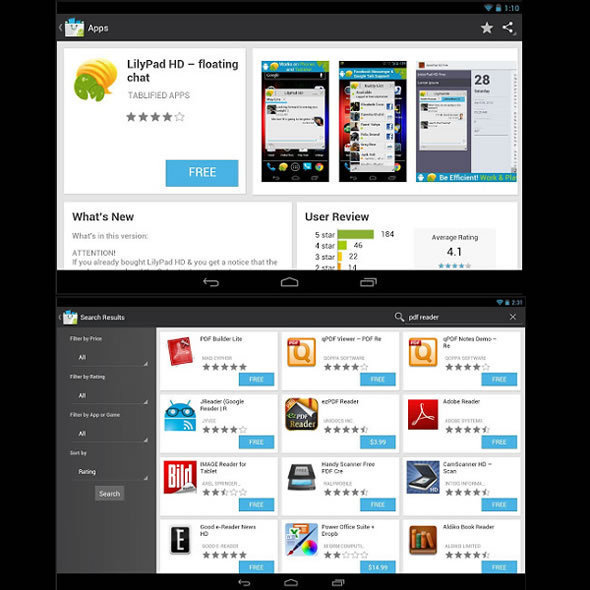 10 Great Android Apps For Tablets