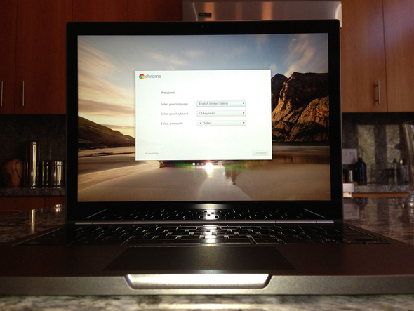 Google Chromebook Pixel: Visual Tour