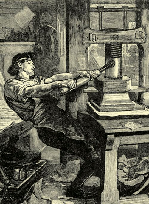 Gutenberg's Printing Press