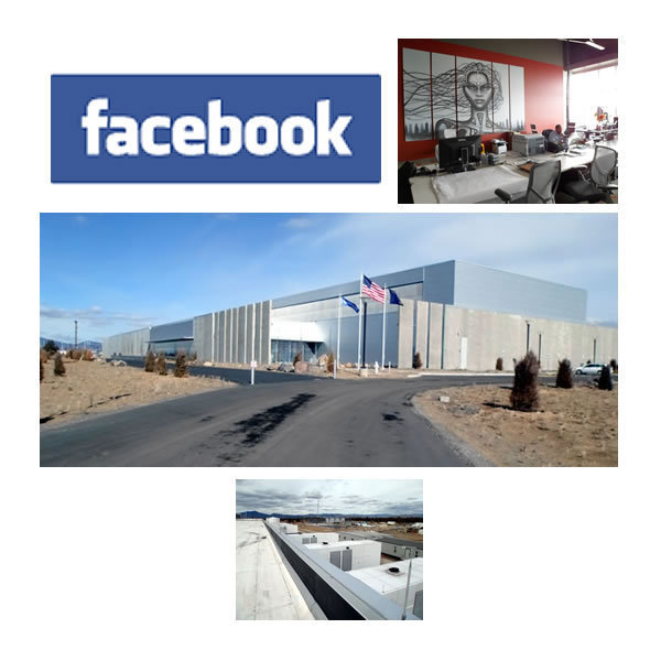 Facebook's Futuristic Data Center: Inside Tour