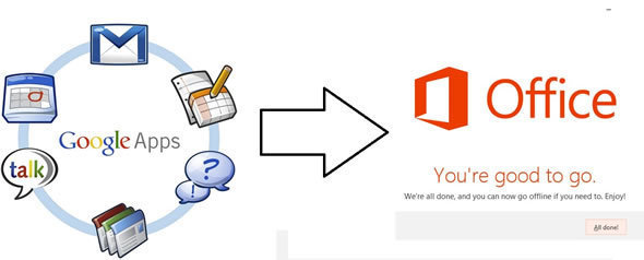 Google Apps To Microsoft Office 365: 10 Lessons