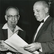 John Mauchly and J.P. Eckert