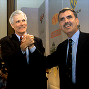 Ted Turner Jerry Levin