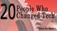 20 People Who Changed Tech