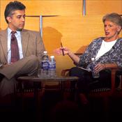 Dr. Vatsal Thakkar with Susan Clark