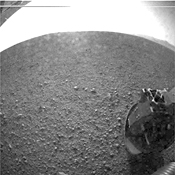 Curiosity Rover: first images