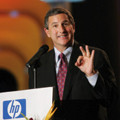 CEO Hurd says cost cuts will generate substantial savings. -- Photo by Sipa Press