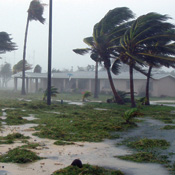 Hurricane Dennis, which struck in July, was clocked with winds in excess of 90 mph and dumped more than 7 inches of rain on parts of Florida.