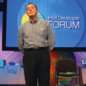 New processors will help IT managers cut the cost of running data centers, Intel CEO Otellini says.