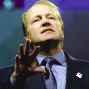 Cisco's data-center technology fits into CEO Chambers' vision of a network of networks.