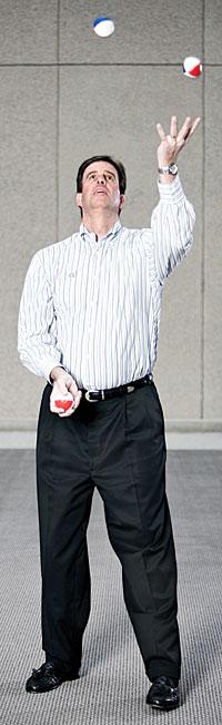 John Parker, CIO, A.G. Edwards Inc. -- Photograph by Austin Walsh