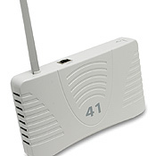 Aruba's AP-41 access point establishes a connection between a remote location and a company network.