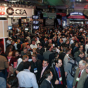 On the floor of the Consumer Electronics Show
