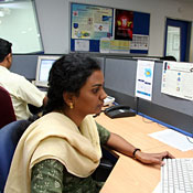 Programmers at Microland -- Photo by Photo by Mahesh Bhat/Getty Images