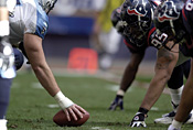 Customized outbound data searches will be part of the Houston Texans' defensive strategy.