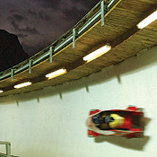 Bobsled And Luge Run
