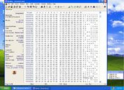 WinHex is a general-purpose hex editor that can do just about anything the special-purpose editors can, and more. In this simple demo, we've loaded Freecell into the editor and changed the first occurrence of the word