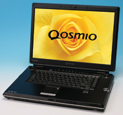 Toshiba's Qosmio A/V Notebook PC